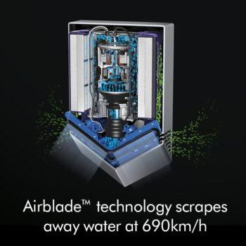 Suszarka do rąk Dyson Airblade™ V HU02 Nickel