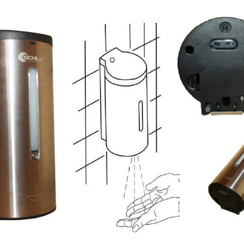 dozownik mydła płynów szamponu shower Schild automatyczny higieniczny Schild na baterię
