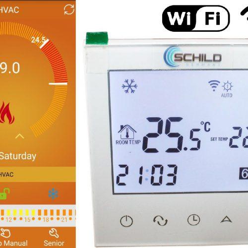 Termostat Schild EP21 WiFi regulator temperatury pokojowej