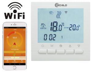Termostat gazowy Schild TOB-313Wifi regulator temperatury pokojowej