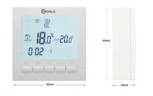Termostat gazowy Schild TOB-313W regulator temperatury pokojowej