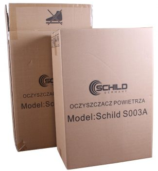 Oczyszczacz powietrza Schild S003A 45m2 308m3/h 75W 65db