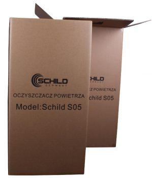 Oczyszczacz powietrza Schild S05 75m2 500m3/h 65W 68db