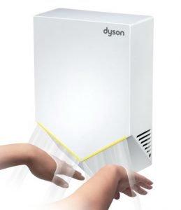 POWYSTAWOWA Suszarka do rąk Dyson Airblade™ V HU02 BIAŁA