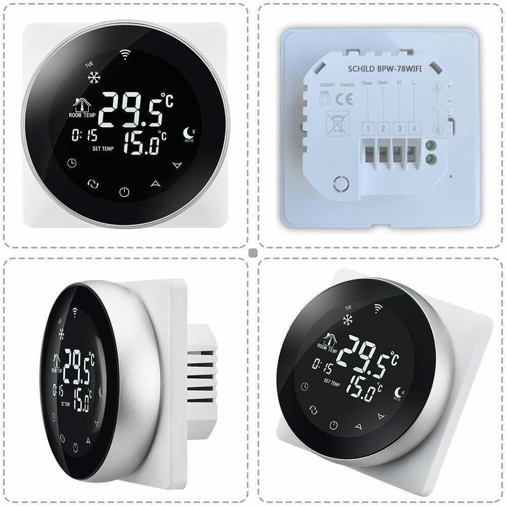 Gazowy Schild BPW-78WIFI regulator temperatury, czujnik, sterownik, termostat