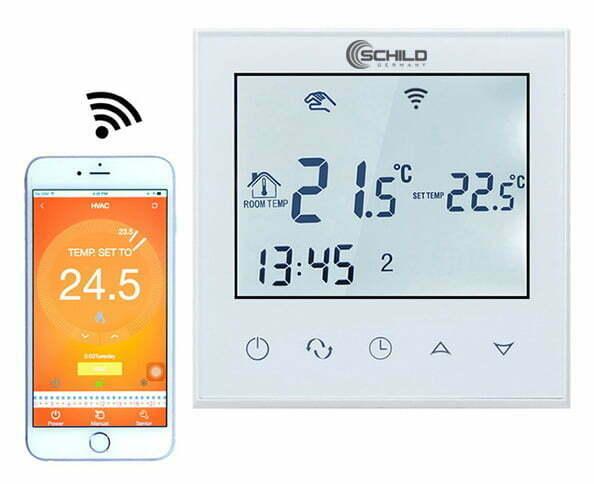 Gazowy Schild BPW-21WIFI regulator temperatury, czujnik, sterownik, termostat