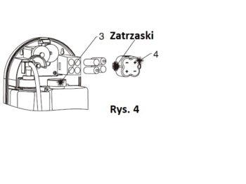 DUŻY 4172ALC Schild DOZOWNIK MYDŁA AUTOMATYCZNY ANTYBAKTERYJNY BEZDOTYKOWY PŁYNU 1,1l