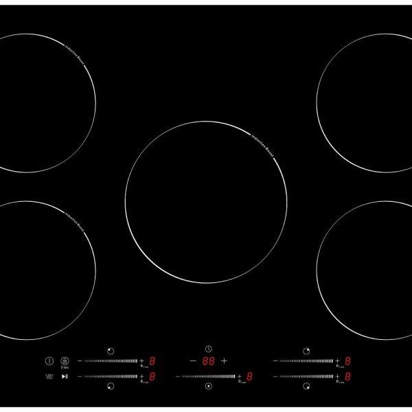 Płyta indukcyjna Schild 770PS 7200W booster 5 stref grzewczych 77cm szkło ceramiczne