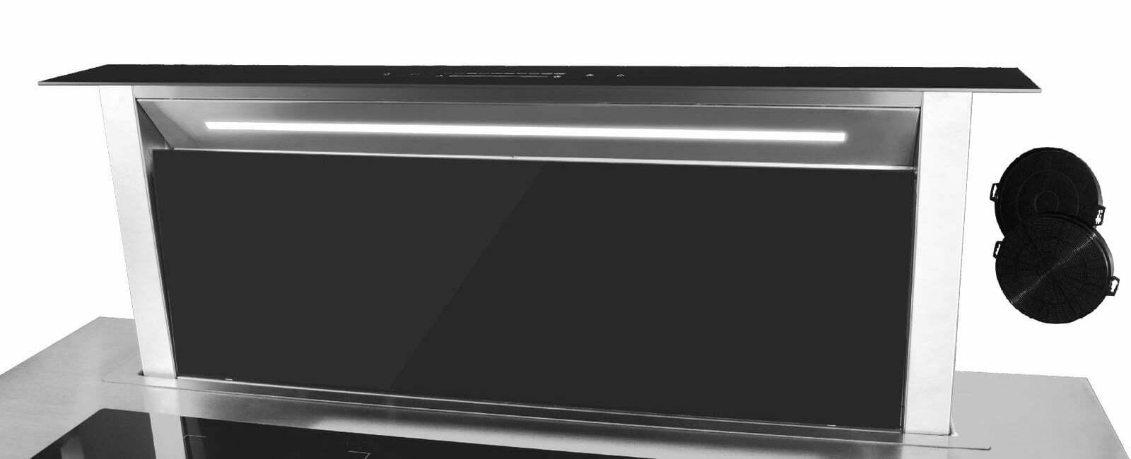 Automatyczny okap kuchenny downdraft wysuwany blatowy SCHILD DK900 pochłaniacz