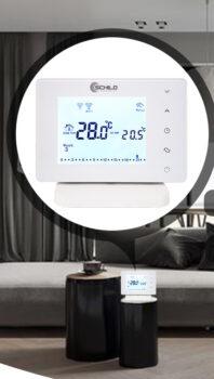 Termostat do pieców gazowych Schild TOB603FR-WiFi bezprzewodowy + WiFi