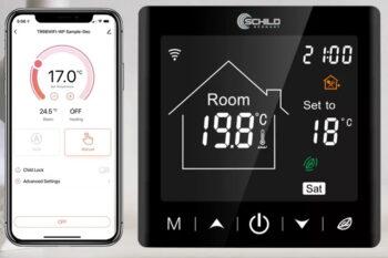 Gazowy Schild BPW-B9WIFI regulator temperatury, czujnik, sterownik, termostat- do pieca gazowego, elektrycznego, na pelet, ekogroszek itd – zwarcie